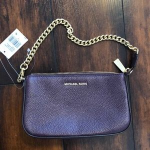 Purple Michael Kors purse